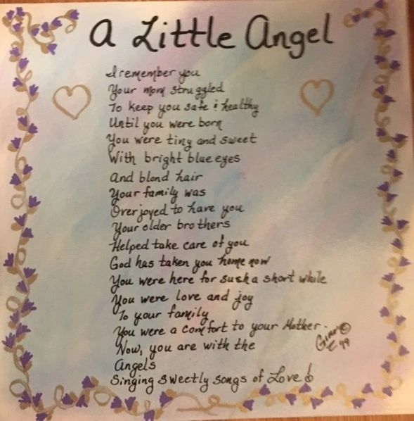 A Little Angel poem