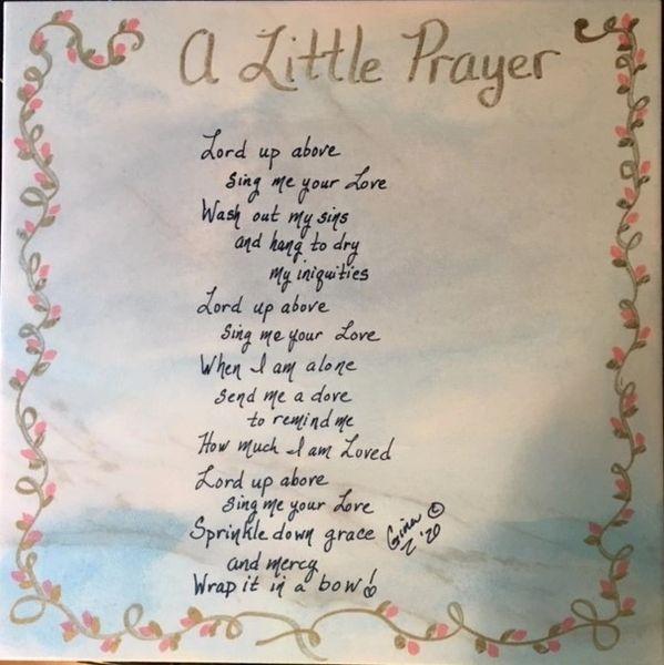 A Little Prayer poem