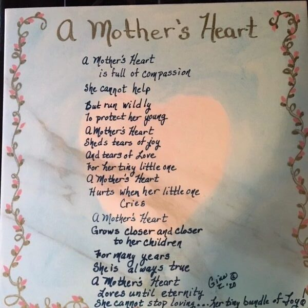 A Mother's Heart poem