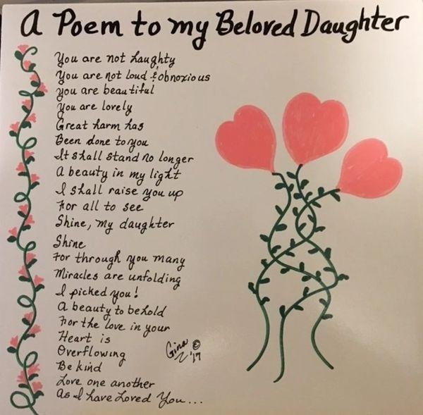 A Poem To My Beloved Daughter