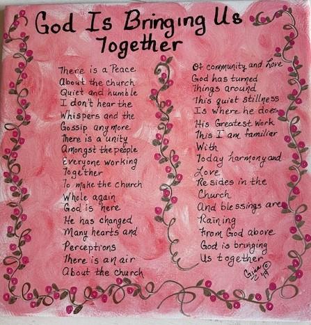 God Is Bringing Us Together