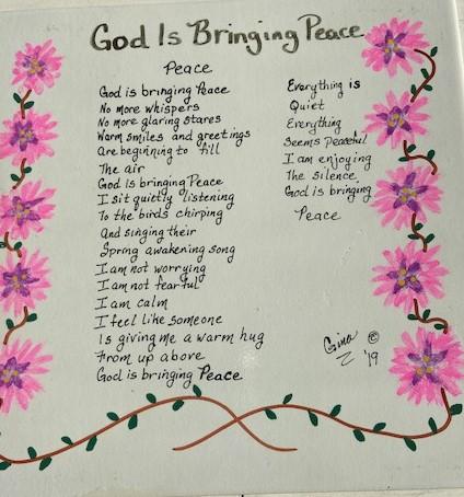 God Is Bringing Peace