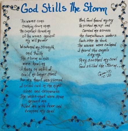 God Stills The Storm