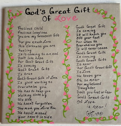 God's Great Gift Of Love