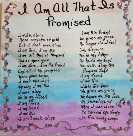 I Am All That Is Promised 1