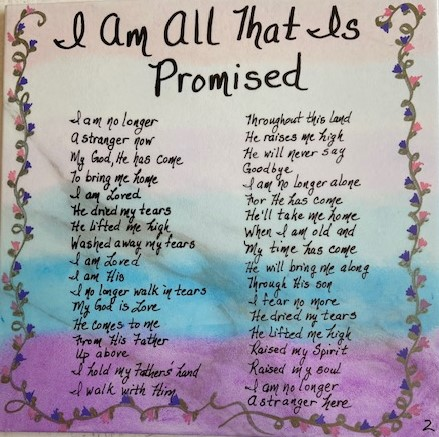 I Am All That Is Promised 2