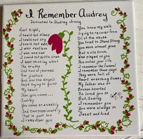 I Remember Audrey 1