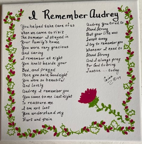 I Remember Audrey 2