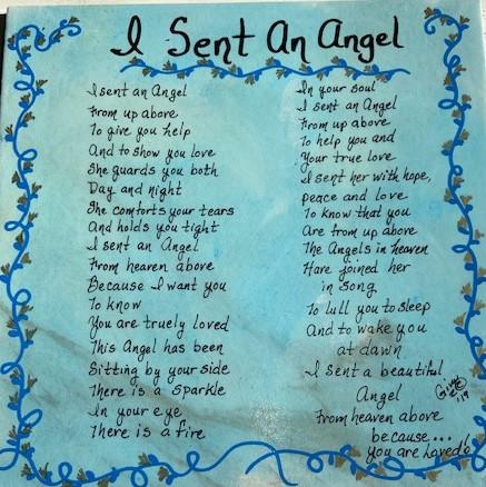 I Sent An Angel