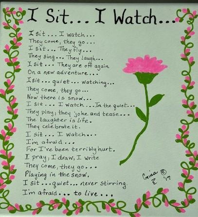 I Sit ...I Watch 1