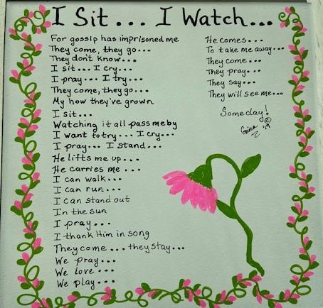 I Sit ...I Watch 2