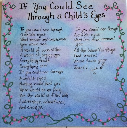 If You Could See Through A Child's Eyes