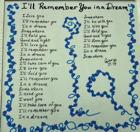 I'll Remember You In a Dream