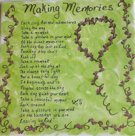 Making Memories 1