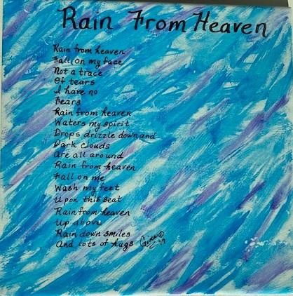 Rain From Heaven