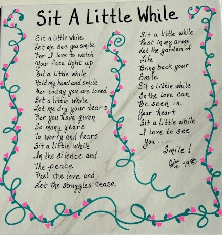 Sit A Little While