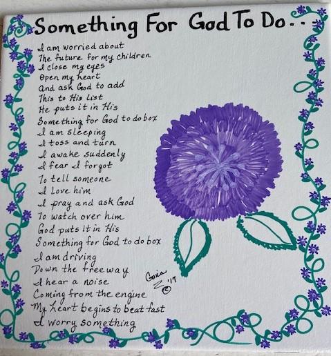 Something For God To Do 1