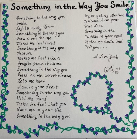 Something In The Way You Smile