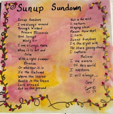 Sunup Sundown