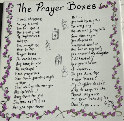 The Prayer Boxes 1