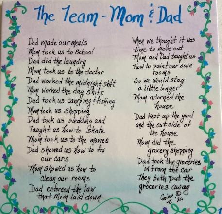 The Team Mom & Dad 1
