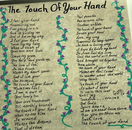 The Touch Of Your Hand