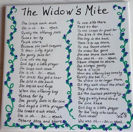 The Widows Mite