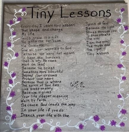 Tiny Lessons