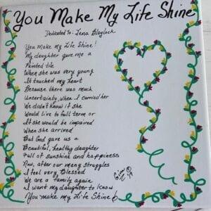 You Make My Life Shine